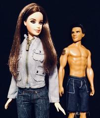 """But I'll never see anyone else, Bella. I only see you."" (honeysuckle jasmine) Tags: bellaswan jacobblack taylorlautner kristenstewart breakingdawn eclipse newmoon saga twilight movie dolls doll collector barbie"