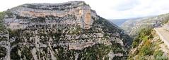 Les Gorges de la Nesque (jean-daniel david) Tags: france nature gorges route ciel nuage rocher provence panorama vaucluse arbre buisson