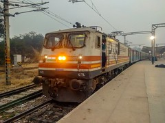 12049 Gatiman Express (Puru P Dixit (Die hard RF)) Tags: indianrailways train gatimaanexpress wap5 agra