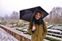 Cool Cousin 10/12/17 - 5 (lemonteajunkie) Tags: london capital city uk gb england umbrella gardens horniman girl smile laugh winter seasonal snow ice