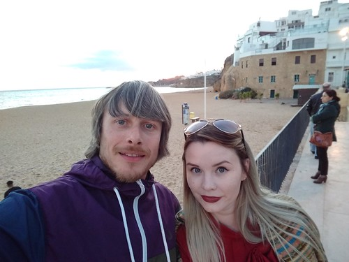 Ed and Leanne, Portugal, Christmas Day