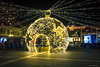 Eger (Laszlo Horvath.) Tags: dobó square eger hungary advent christmas light night castle yellow nikond7100 sigma1835mmf18art