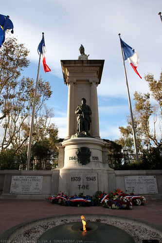 FR10 9460 WWI Monument. Narbonne, Aude, Languedoc