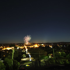 2018 (the-photon-trap) Tags: fireworks newyears castlemaine country sky astronomy uranus planet nightsky 2018 train victoria australia olympusomdem5 microfourthirds m43 squareformat palabra bicycle owl tawnyfrogmouth thephotontrap