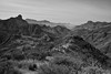 Roque Bentayga (Tejeda, Gran Canaria, España) (Carlos Arriero) Tags: tejeda grancanaria españa canarias spain europe europa blackandwhite blancoynegro bw nature naturaleza paisaje landscape carlosarriero outdoor natgeo natura viajar travel nikon d800e tamron 2470f28 monochrome noiretblanc horizonte horizon roquebentayga degradado montaña mountain