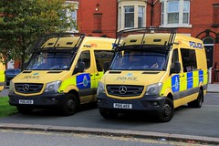 Merseyside Police Mercedes Sprinter Public Order Vans (PFB-999) Tags: merseyside police mercedes sprinter public order van vehicle unit pov psu support light modules grilles fendoffs sidelights leds po15aed po15aee anfield liverpool