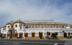Plaza de Toros (Sur mon chemin, j'ai rencontré...) Tags: séville andalousie espagne plazadetoros arènes arènesdelarealmaestranzadecaballeriadeséville tauromachie biendintérêtculturel monumenthistorique elarenal
