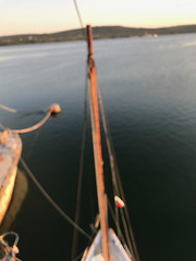 Varna, Bulgaria (pleasedontfront) Tags: hippo schooner voyage sailing sail sails sailboat black sea junk junkrig junkrigged joe riley clemens poole shane kennedy