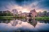 Schloss Wissen und Mühle, Weeze, Niederrhein (nigel_xf) Tags: schlosswissen castle weeze niederrhein spiegelung reflection reflexion sky himmel landschaft landscape nikon d750 nigel nigelxf vsfototeam