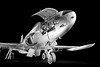 "LOCKHEED F-80C (Johnson Barros) Tags: 1gav4pacau 2017 brazilianairforce cacabombardeiro fab forcaaereabrasileira forçaaéreabrasileira fotojohnsonbarros jato lockheadf80cshootingstar metralhadorabrowning50"" exposicao exposicaoarquivonacional exposicaocendoc turbojatoallisonj33a23 riodejaneiro rj brasil br airport aeroporto aircraft nightshot war koreawar metalic metal stack classic eos canoneos cano 5 canoneos5 blackandwhite bw wing wings museum musal arquivonacional museuaeroespacial night dark"