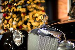1936 (Chris Buhr) Tags: mercedes benz bokeh leica noctilux 1936 50mm f095 095 christmas tree light lights xmas oldtimer car auto