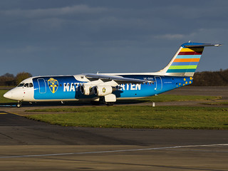 Braathens Regional Airlines | British Aerospace BAe Avro RJ100 | SE-DSU
