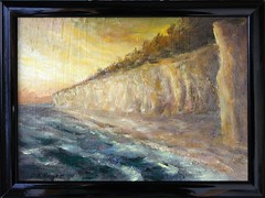2013-01-03-1216N (OK Gallery) Tags: painting gotland sweden sverige oddkhauge yourgotlandphotos group
