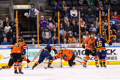 "Kansas City Mavericks vs. Colorado Eagles, December 16, 2017, Silverstein Eye Centers Arena, Independence, Missouri.  Photo: © John Howe / Howe Creative Photography, all rights reserved 2017. • <a style=""font-size:0.8em;"" href=""http://www.flickr.com/photos/134016632@N02/25271500768/"" target=""_blank"">View on Flickr</a>"