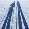 the long shadows of a weekend skiing (zeh.hah.es.) Tags: zermatt schnee snow schweiz switzerland schatten shadow ich ego ja je me