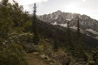 Kaslo Lake trail