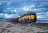 Coal Train on the Salt Lake Route (jamesbelmont) Tags: blackrock losangelessaltlake lasl unionpacific dd35a emd milford utah coal