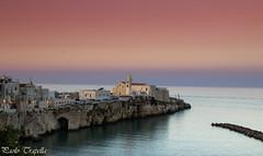 Vieste (paolotrapella) Tags: vieste puglia gargano italy colors sunset tramonto paesaggi landscapes mare sea borghi