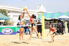 Students beach volleyball (Thailand) (popplefilm) Tags: beachvolleyball