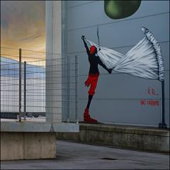 Linz Hafen (pixel_unikat) Tags: linz upperaustria harbour streetart graffiti