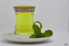 mint3 (iNezar) Tags: drink food mint tea hot healthy green white arabic natural yallow close
