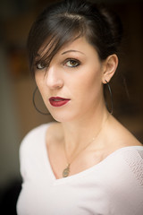 Elodie : Portrait : Nikon D4 : Nikkor 85 mm F1.8 G AFS_1305 (Benjamin Ballande) Tags: elodie portrait nikon d4 nikkor 85 mm f18 g afs