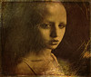 Unknown Mona Lisa (bdira3) Tags: portrait young lady painterly mysterious