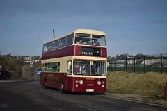 East Kent Daimler Fletline 7953 (michaelamos187) Tags: rfn953g east kent daimler fleetline 7953 acorn wharf coach park medway bus running day rally rochester