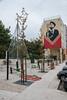 Soldier of Peace (RichardTowers43) Tags: alfama lisbon mural wallart girlsoldier flower gunbarrel