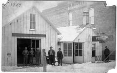 313 W Main, Kilton Building, Monticello, IL 1914 (RLWisegarver) Tags: piatt county history monticello illinois usa il