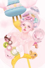 おいしい!♡ (ミカセモカー) Tags: tamagosenbei treat yo self hair etoile wednesday ~ under eye blushes body kuriko ultra rare lip gloss{catwa} vampy lashes kotte face pack biwi heart kiwi nose {xuxu} eyes caramel r sapphire l cxcmacaronring macron rings cxcmacaronmace kawaiiattack banana ctrawberry cream dairy strawberry big gog 1 asteroidbox donut snack bag halfdeer macaron dream buffet stand cc harajuku party kawaii cuppies particles