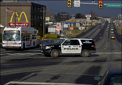 Truck Enforcement (raymondclarkeimages) Tags: rci raymondclarkeimages 8one8studios mystyle flickr yahoo usa outdoor google truckenforcement canon road street 6d police 911 ford cop officer safety 70200mm intersection bensalempolice trucking dot publicservice transportation buckscounty traffic