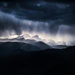 Storm above the Triglav mountain thumbnail