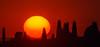 Il Sole Si Avvicina (G.Sartori.510) Tags: pentaxk1 hdpentaxdfa150450mmf4556eddcaw sole sun tramonto sunset cielo sky cipressi cypresses