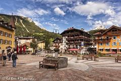 20170903-5306-Moena-bw (Rob_Boon) Tags: colefpro4 dolomieten italië moena dolomites italy cityscape robboon