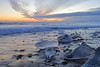 Diamond Beach (A Sutanto) Tags: ice iceland iceberg diamond beach island jokulsarlon lagoon glacier dawn sunrise blue hour
