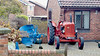 20171215 Wlk frm Bloomery Way_0036 BMC Tractor~Back Lane~Pilsley (paul_slp5252) Tags: derbyshire bmctractor backlane pilsley