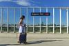 Avignon TGV - Avignon (France) (Meteorry) Tags: europe france paca provencealpescôtedazur vaucluse avignon avignontgv station gare sncf platform quai woman femme girl madame voyageur passenger suitcase valise luggage bagage summer été candid tgv6117 july 2017 meteorry