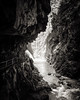 roffla gorge (chris.regg) Tags: gorge roffla viaspluga grisons water rock waterfall steep wet valley bw blackandwhite monochrome switzerland