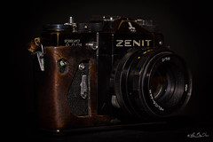Zenit TTL - Reflex argentique (minelflojor) Tags: zenit ttl reflex argentique appareil photo objectif helios 44mm vieux ancien slr camera lens old macro