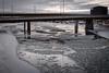 Freezing (Jacques P Raymond) Tags: bowriver freezing water morning bridge