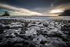 Skye-Talisker Bay 17-1361.jpg (BrynnAvon) Tags: stone point 2descriptors landscape water 3subject evening colour k1 hdr tide beach pentax sun sand shore sea 1specs sky ways ba54 coast ocean clouds