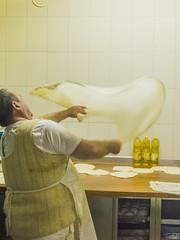 Burek, the making of (rante_to4ak) Tags: burek belo lale prilep makedonija macedonia testo pita pie cooking man work bakery balkan flour preparation rante nikon d3300 craft artisanal food