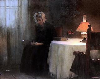 IMG_8070MJ Jakub Schikaneder. 1855-1924. Soir. Evening. 1897 Prague Narodni Galerie Veletrzni Palac