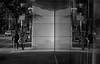 Diptych (bingley0522) Tags: leicam3 voigtlandercolorskopar50mmf25 tmax100 diafine epsonv500scanner sfmoma sanfrancisco reflection autaut