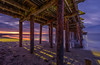 Under the Pier (Simon Huynh) Tags: santacruz capitolpier california sunrise lights relfection