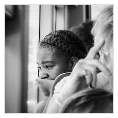 Sad dreaming (sdc_foto) Tags: sdcfoto street streetphotography bus bw blackandwhite pentax pentaxart girl sadness london k1