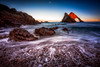 New Year's Bow (Augmented Reality Images (Getty Contributor)) Tags: portknockie bowfiddlerock coastline landscape leefilters waves scotland water longexposure pebbles morayfirth canon seascape clouds rocks unitedkingdom gb