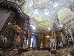 The Austrian National Library (Melissa Osorio Photography) Tags: austria vienna travel beauty beautiful photo photography gopro melissaosorio melissa osorio magic dream library