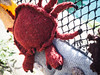 Crab-2 (S's images) Tags: september harbour holiday knitted crab red